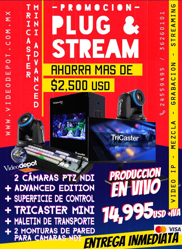 plug-and-stream